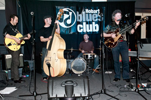 Pete Hicks and the Blue Licks at Hobart Blues Club